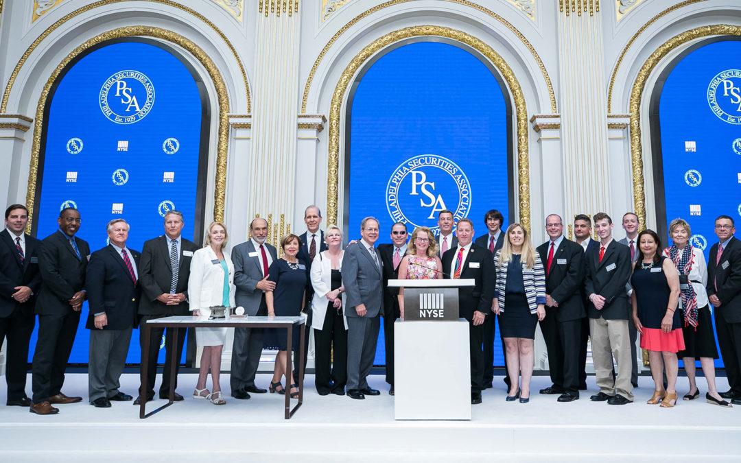 PSA NYSE Bell Ringing